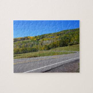 Scenic road in Escalante, utah Puzzles