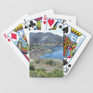Scenic Roosevelt Lake Bicycle Playing Cards