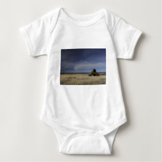 Scenic Rustic Country Barn Baby Bodysuit
