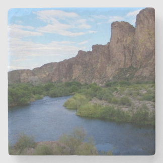 scenic saguaro lake stone coaster