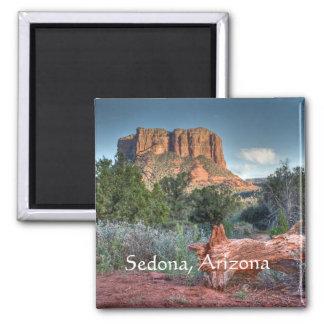 Scenic Sedona Square Magnet
