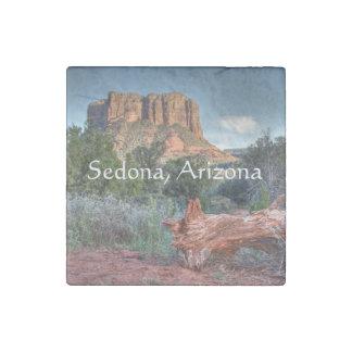 Scenic Sedona Stone Magnet