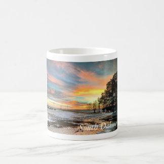 Scenic South Dakota Winter Sunset Mug