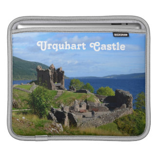 Scenic Urquhart Castle Ruins Sleeve For iPads
