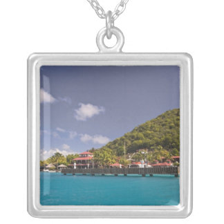 Scenic view of Bitter End Yacht Club Virgin Square Pendant Necklace