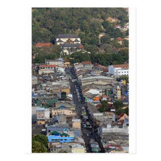Scenic view of Kandy, Sri Lanka Postcard