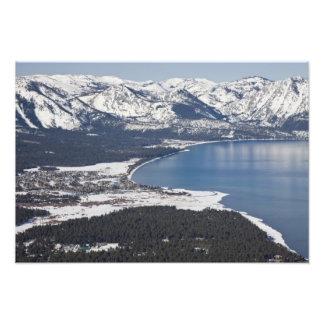Scenic view of Lake Tahoe, USA Photographic Print
