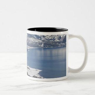 Scenic view of Lake Tahoe, USA Two-Tone Mug