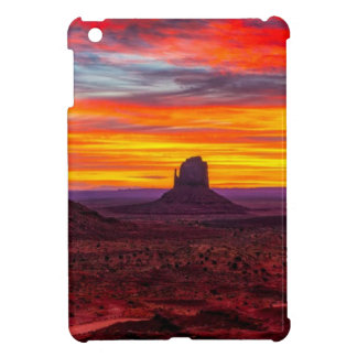 Scenic View of Sunset over Sea iPad Mini Case