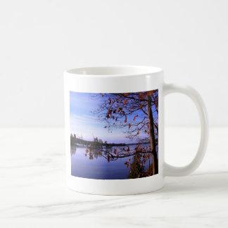 Scenic Water Scene Basic White Mug