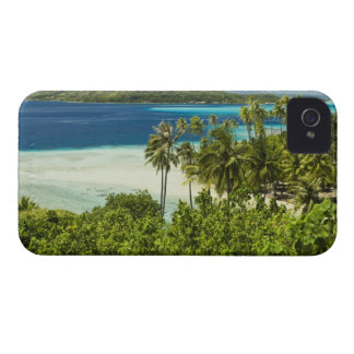 Scenics and grounds of beautiful resort in Bora iPhone 4 Case-Mate Case