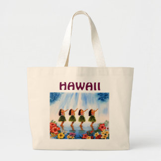 SCENT OF PARADISE JPEC-2, HAWAII LARGE TOTE BAG