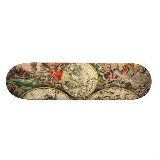 Schagen World (1/3 - Top) 21.6 Cm Skateboard Deck