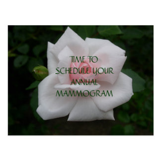 Schedule Mammogram Postcard