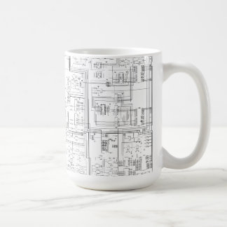 Schematic Diagram Mug