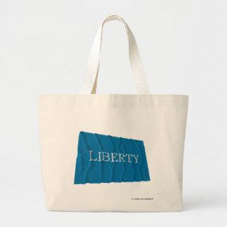 Schenectady Liberty Flag Canvas Bags