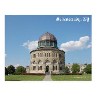 Schenectady Steeples Postcard
