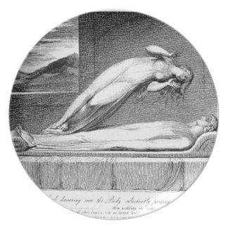Schiavonetti - Soul leaving body Plate