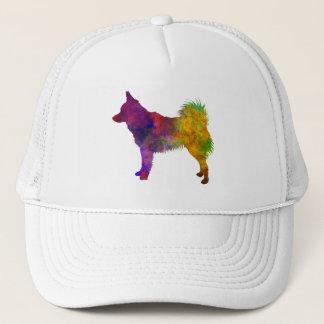 Schipperke in watercolor trucker hat