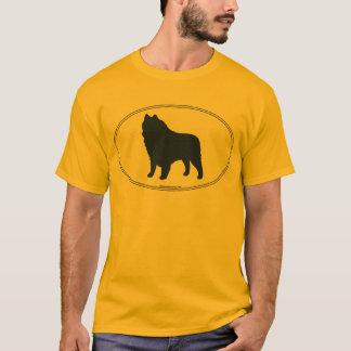 Schipperke Silhouette T-Shirt