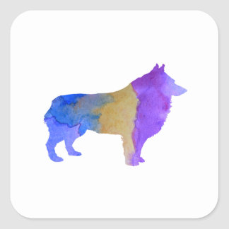 Schipperke Square Sticker
