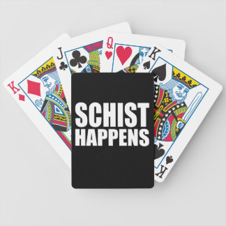 Schist Happens Playing Cards