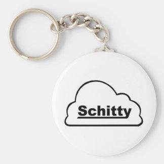 Schitty Cloud Key Chain