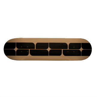 Schizm Ebony (Tan) Skateboard Deck
