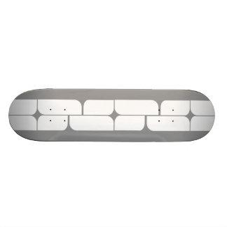 Schizm Ivory (Grey) Skateboard Deck
