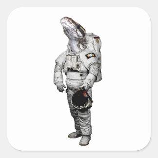 Schlange Astronaut Sticker