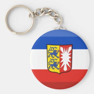 Schleswig-Holstein Flag Gem Key Chain