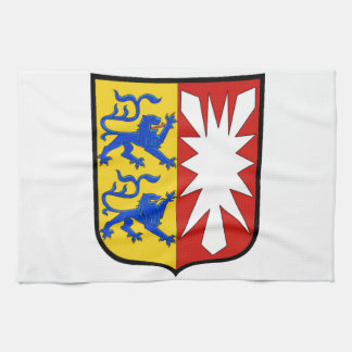 Schleswig Holstein (Germany)  Coat of Arms Tea Towel