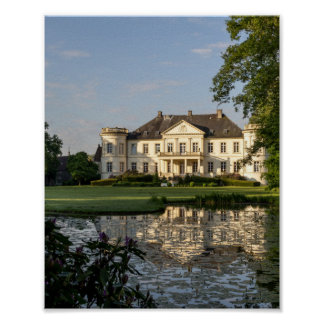 Schloss Buldern, Dülmen, Rhine-Westphalia, Germany Poster