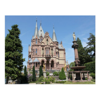 Schloss Drachenburg on Drachenfels Postcard