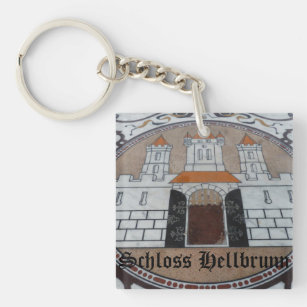 Schloss Hellbrunn - Salzburg, Austria Key Ring