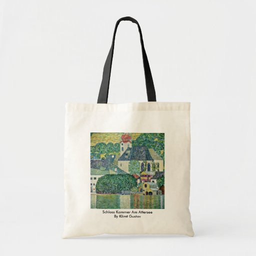 Schloss Kammer Am Attersee By Klimt Gustav Tote Bags