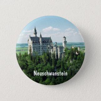 Schloss Neuschwanstein 6 Cm Round Badge