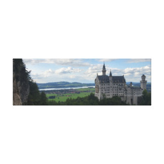 Schloss Neuschwanstein Canvas Panorama