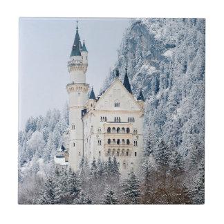 Schloss Neuschwanstein Ceramic Tile