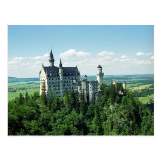 Schloss Neuschwanstein Postcard