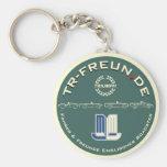 Schlüsselanhänger TR-Freunde Basic Round Button Key Ring