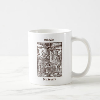 Schmidt - Blacksmith Coffee Mug