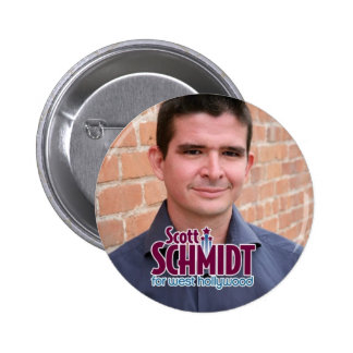 Schmidt for West Hollywood Photo Button