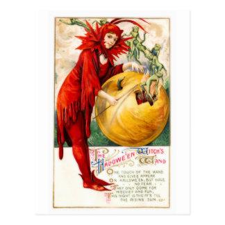 Schmucker: Witch's Wand Postcard