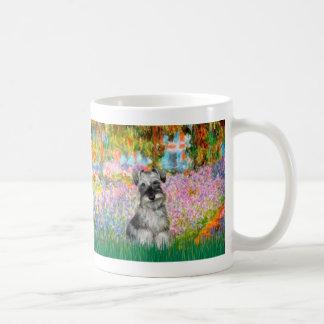 Schnauzer 1N - Garden Coffee Mug