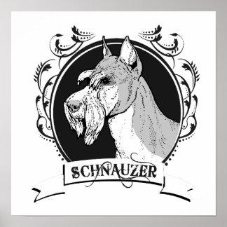 SCHNAUZER (2) PRINT