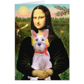 Schnauzer 9N - Mona Lisa Card
