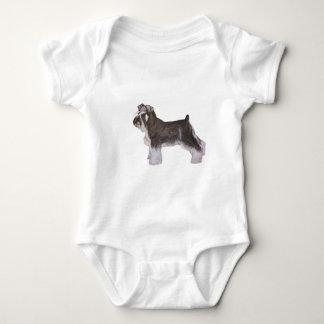 Schnauzer Baby Bodysuit
