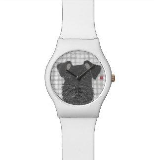 Schnauzer, Black, Modern Watch