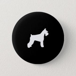 Schnauzer Button - pinback button